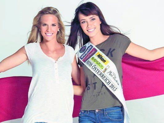 Doris Hofmann und Ena Kadic vertreten Österreich bei internationalen Misswahlen.