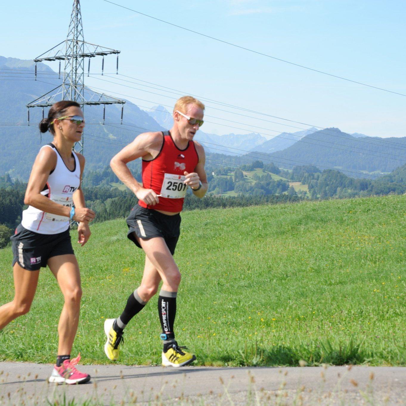 Die Andelsbucherin Sandra Urach wurde beim Halbmarathon in der Wachau Vierte und verpasste das Podest knapp.