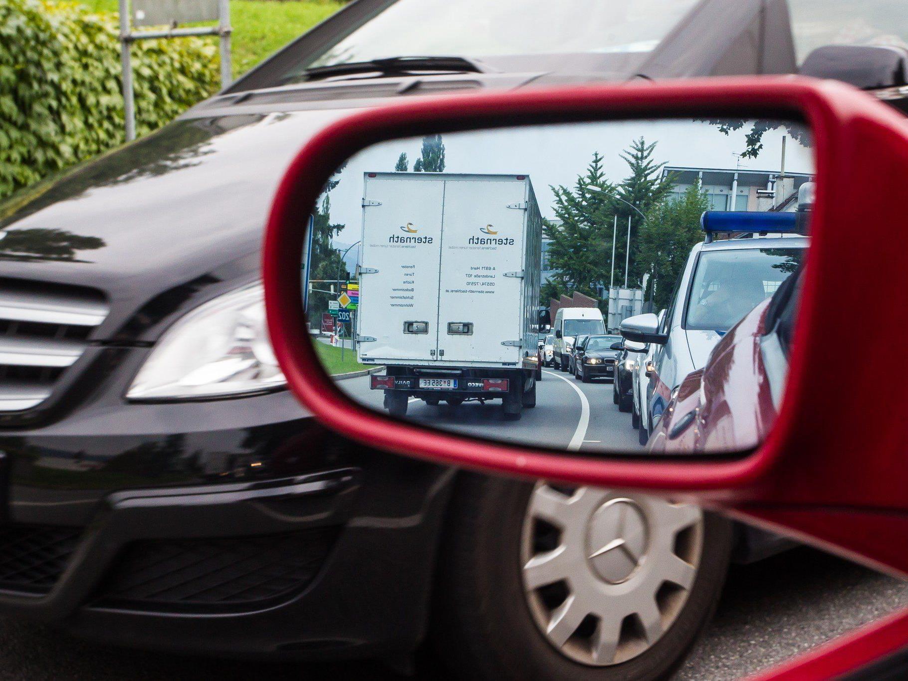 Bregenz leidet unter der hohen Verkehrsbelastung.