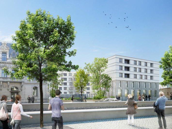 Wohnbauprojekt des Büros Baumschlager Eberle in der französischen Stadt Valence.