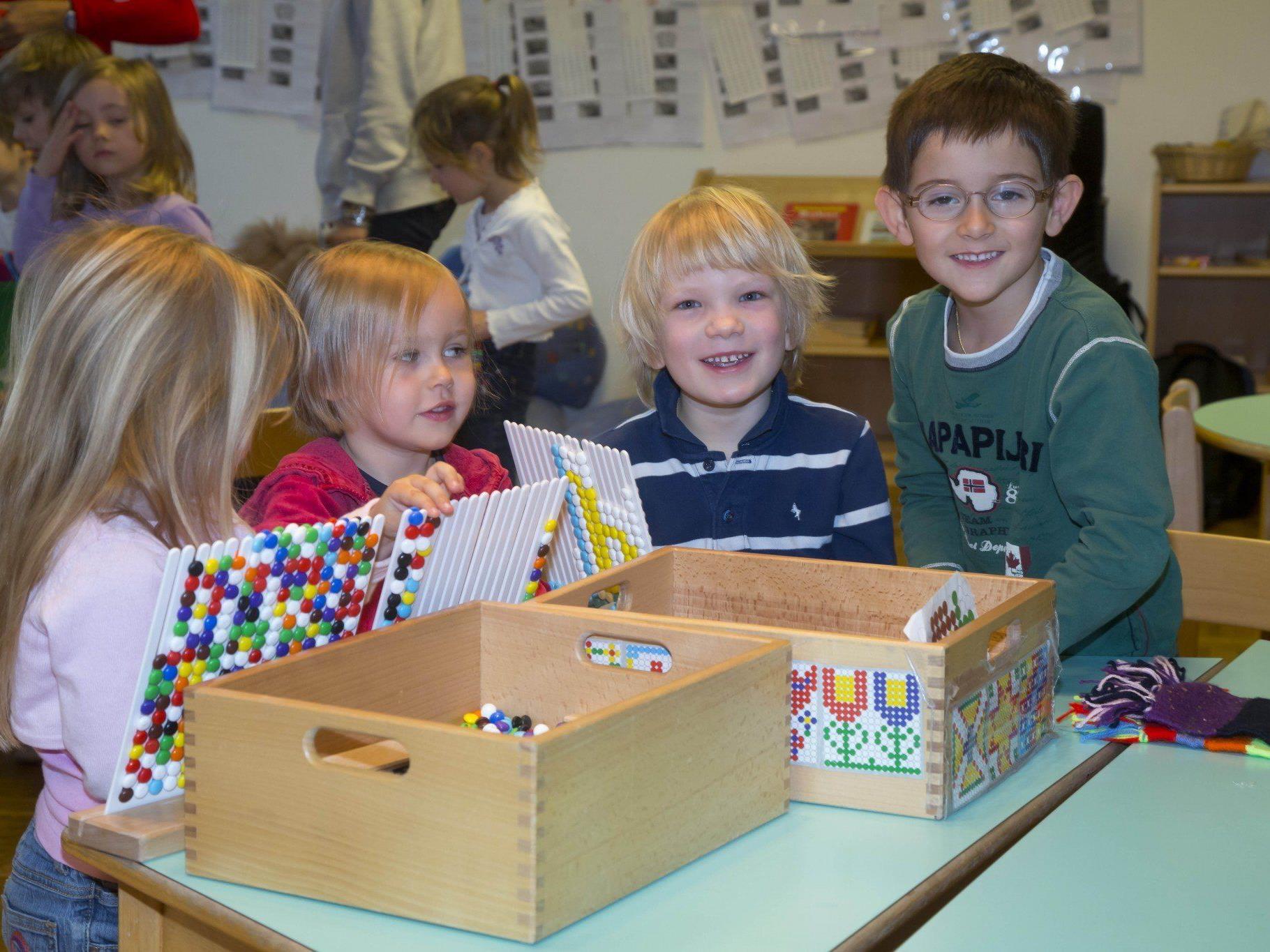 Die Landesregierung Voralberg hat die Personalkostenförderung für Kindergärten verbessert.