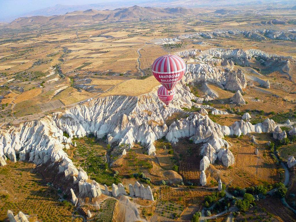 Kappadokien in der Türkei.