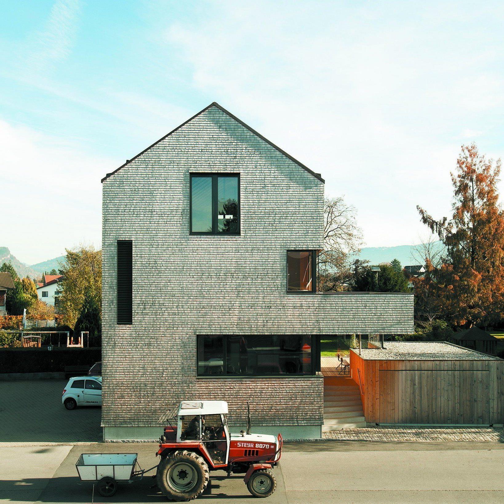 Martin Brunn errichtete sich ein energieeffizientes Zuhause.