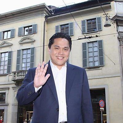 Erick Thohir investiert rund 300 Millionen Euro