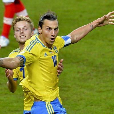Ibrahimovic muss gegen Cristiano Ronaldo auflaufen
