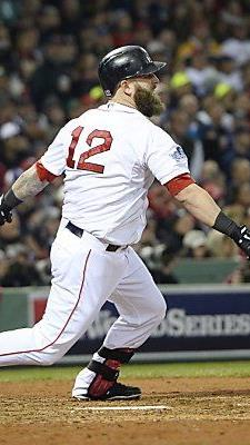 Boston Red Sox-Batter Mike Napoli