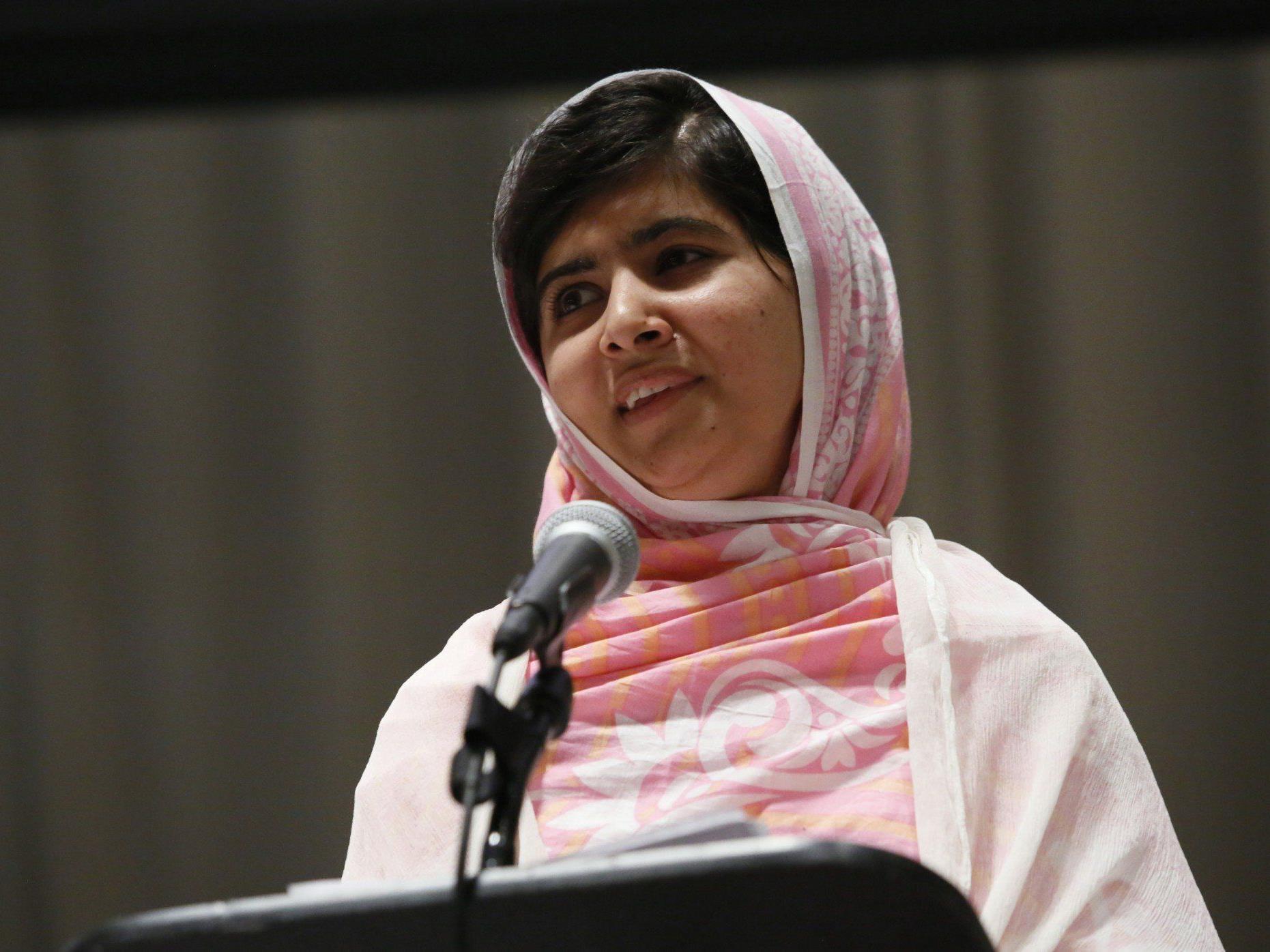 Die Pakistanerin Malala möchte in die Politik, um sich für die Rechte der Frauen einzusetzen.