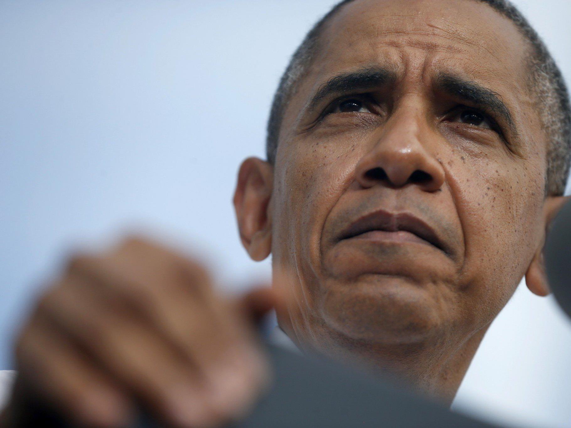 Präsident appelliert an Republikaner, den Haushaltsstreit zu beenden.