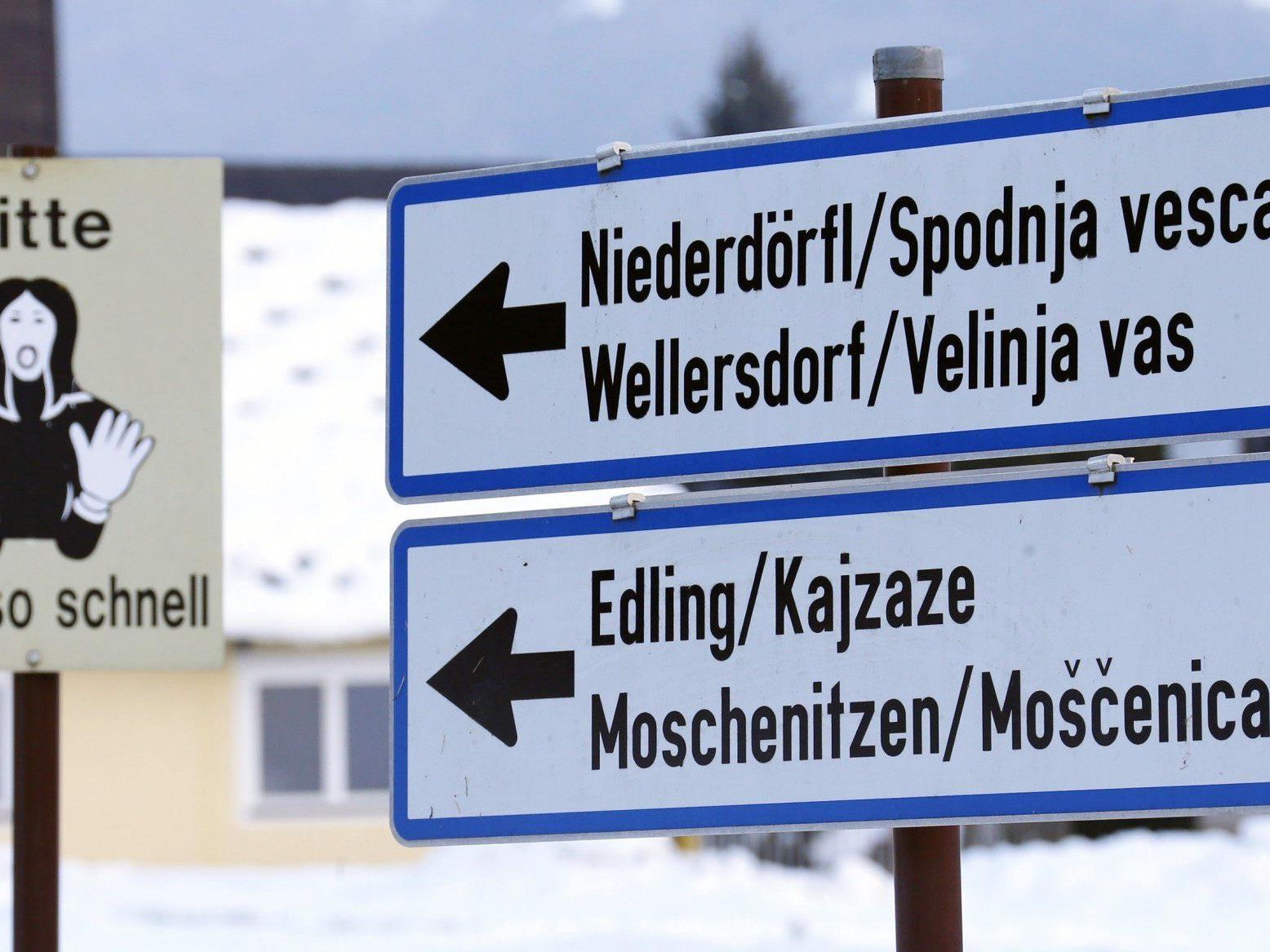 Das Gericht gab einem Kärtner Slowenen recht - die Gemeinde muss ihre Bescheide auch auf slowenisch verschicken.