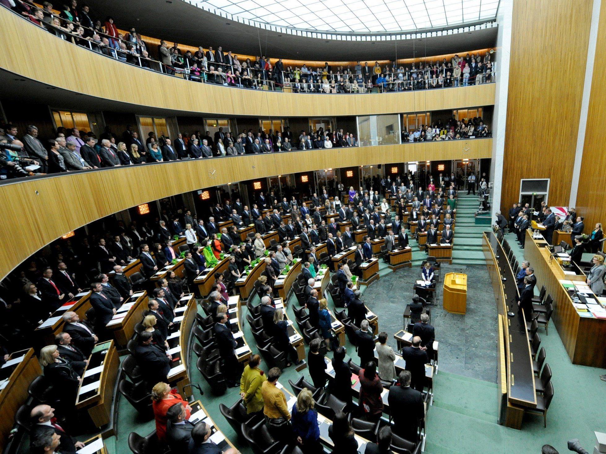 Am Dienstag wurde der neue Nationalrat in Wien angelobt.