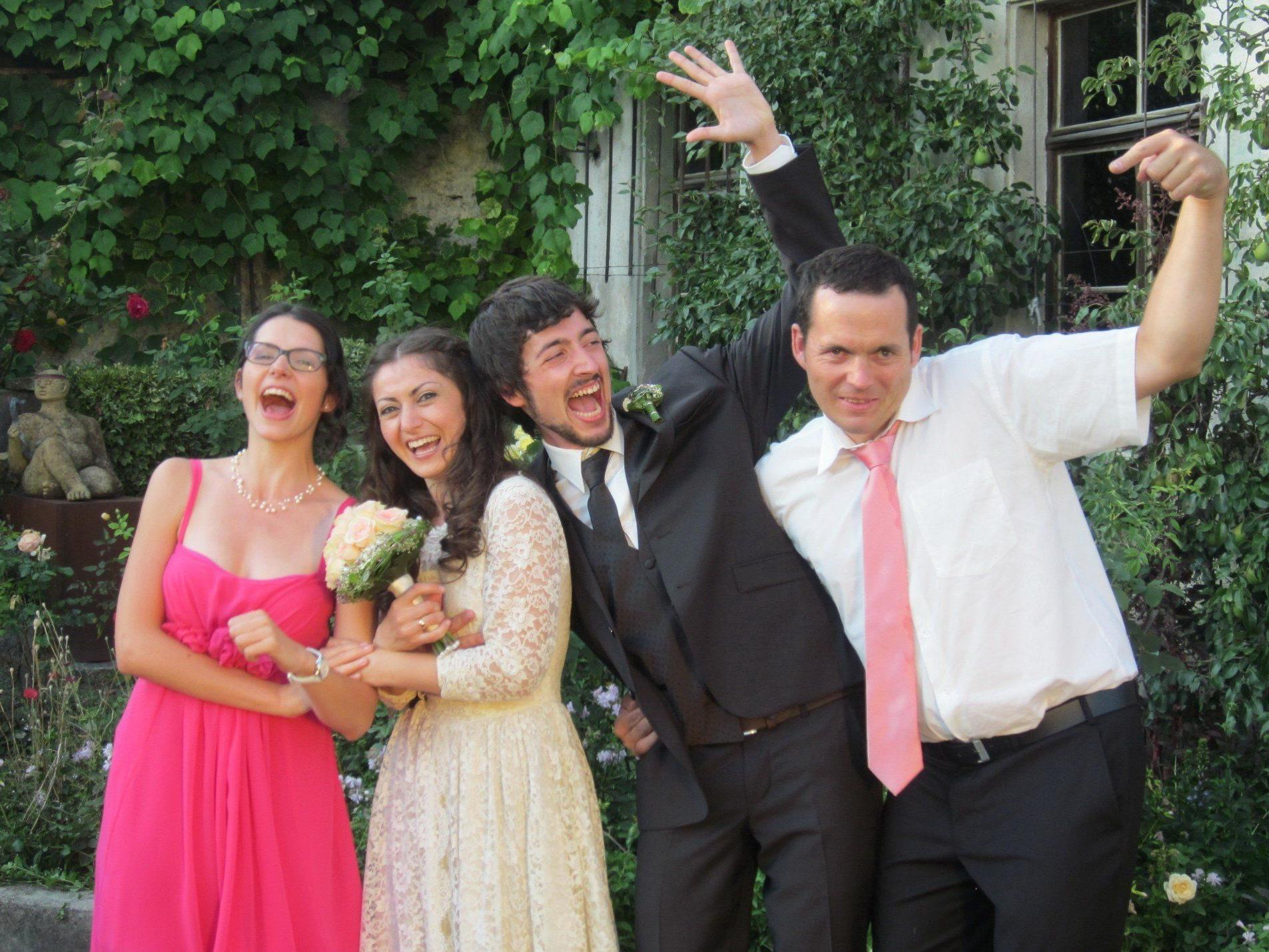 Beyhan Bektas und Niklas Weber haben geheiratet.