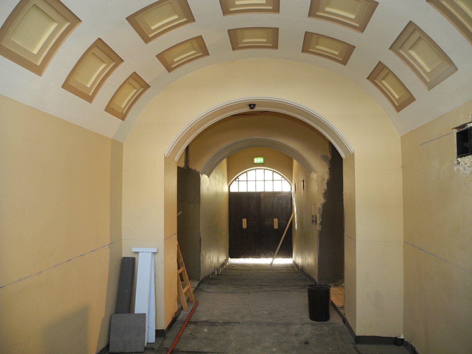 Der Eingang zur Bezirkshauptmannschaft Feldkirch wird behindertengerecht eingerichtet.
