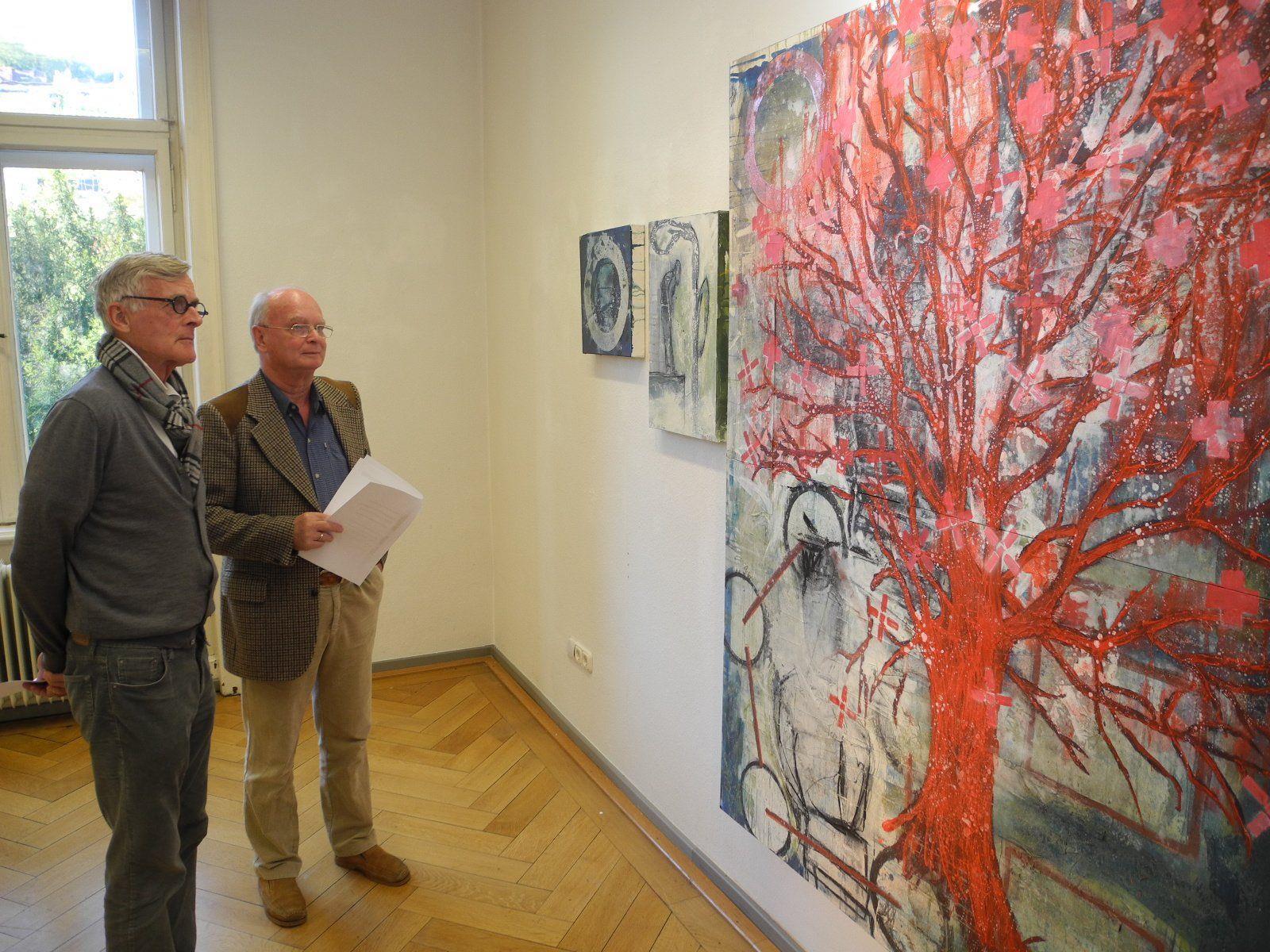 HGfader zeigt seine Werke aus den vergangenen 12 Jahren in der Villa Claudia