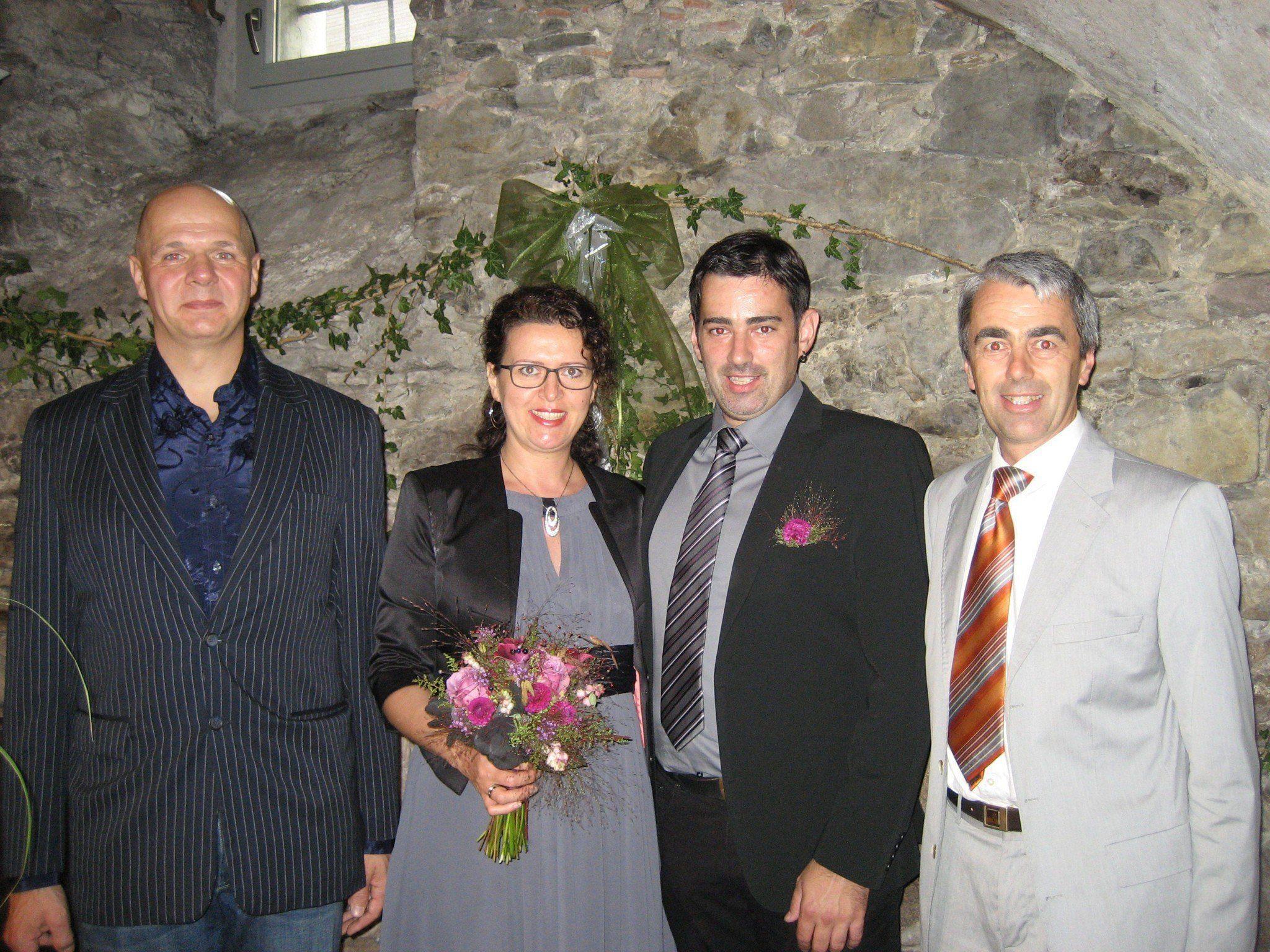 Iris Penz und Martin Burtscher haben geheiratet.