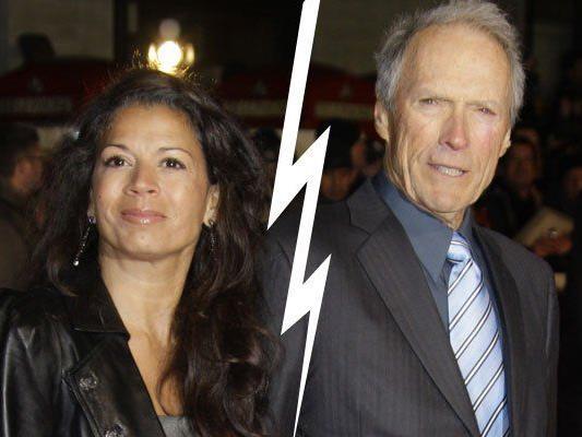 Dina und Clint Eastwood lassen sich scheiden.