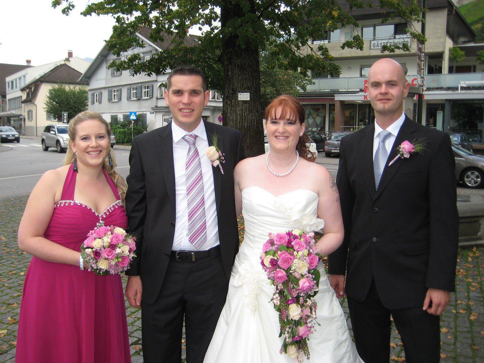 Colette Grand und Stefan Fritsch haben geheiratet.
