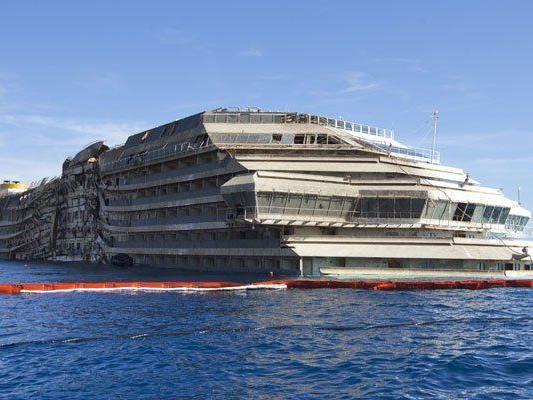 Costa Concordia wird in italienischen Häfen abgewrackt.