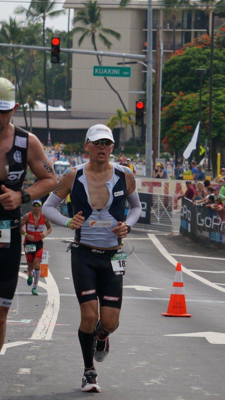 Florian Geser kann mit seinem zweiten Abschneiden beim Ironman Hawaii mehr als zufrieden sein.