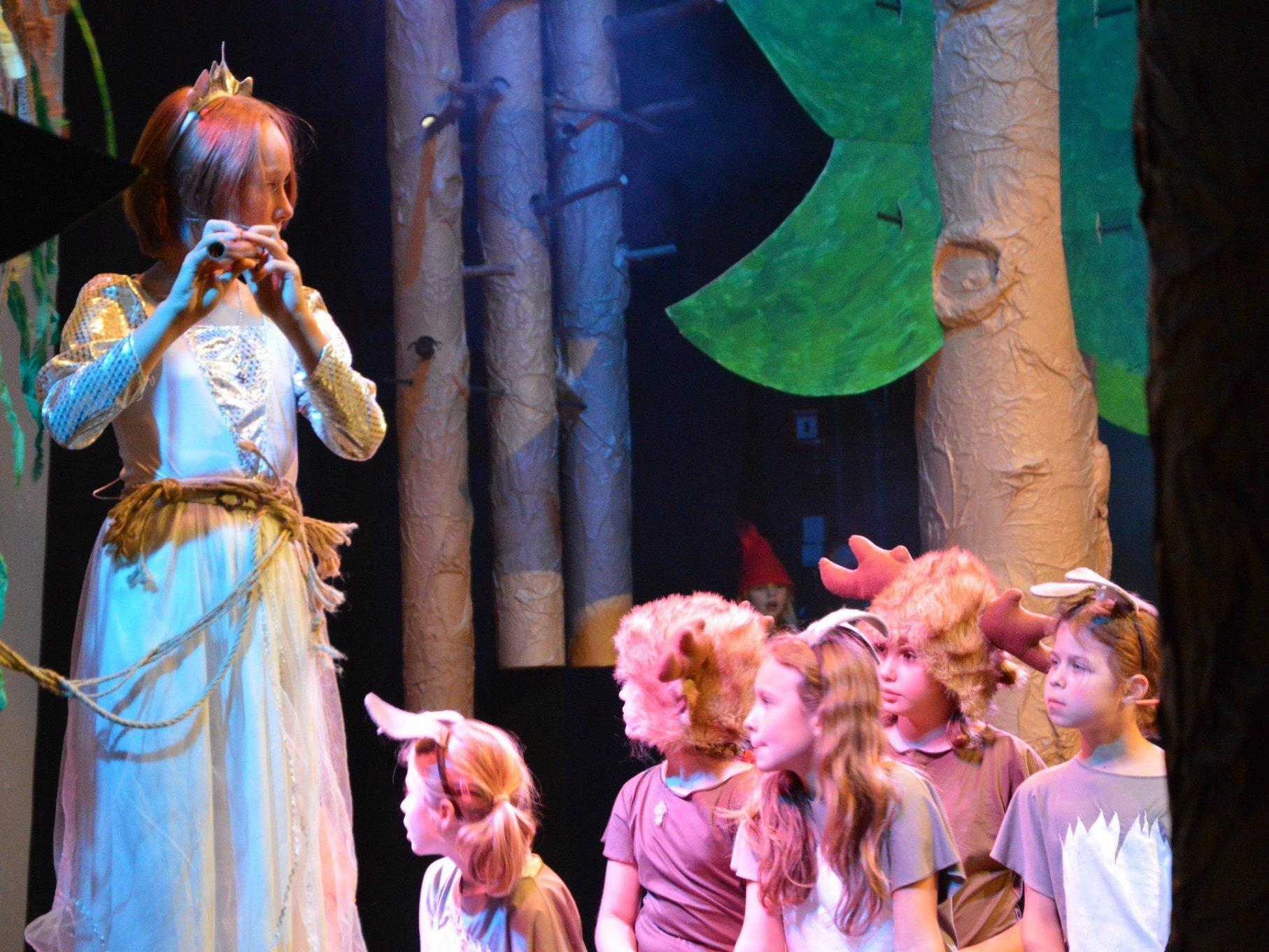 Viel Applaus für Prinzessin Gsi und die Zauberflöte