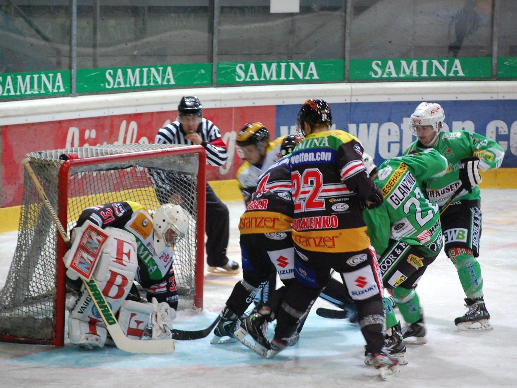 Zwei Heimspiele innert 22 Stunden gegen slowenische Klubs bestreitet der EHC Bregenzerwald.