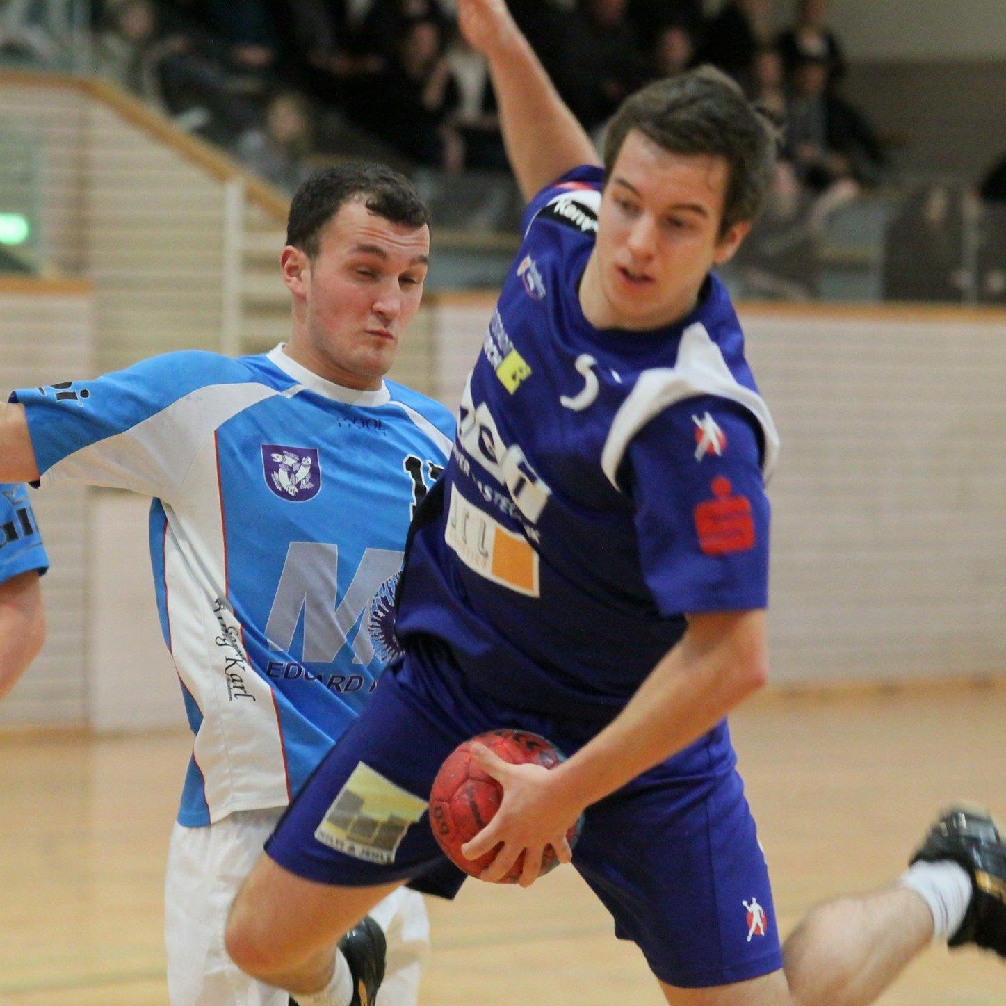 Zwei Heimsiege feierten die Feldkircher Handballer.