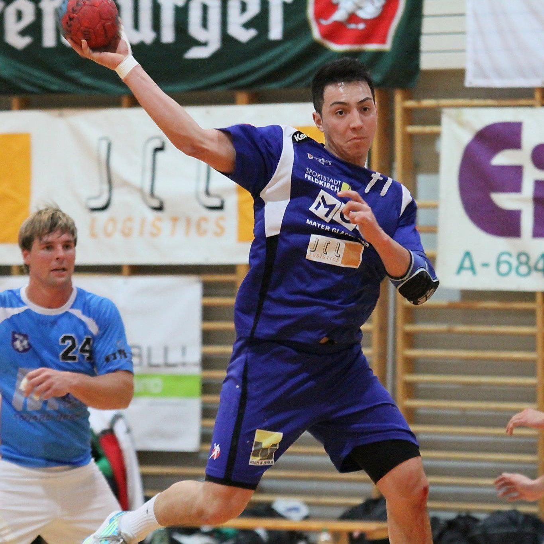 Feldkirchs Handballer kassierten eine Heimniederlage gegen Winzingen.