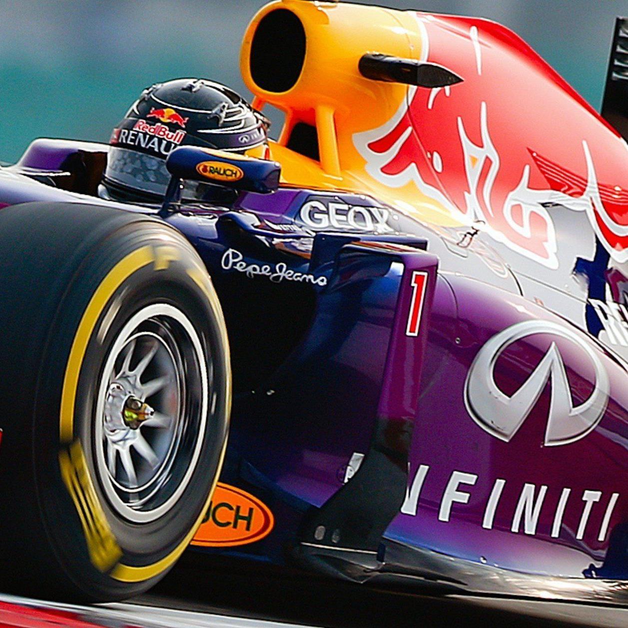 Vettel greift in Indien nach viertem WM-Titel.
