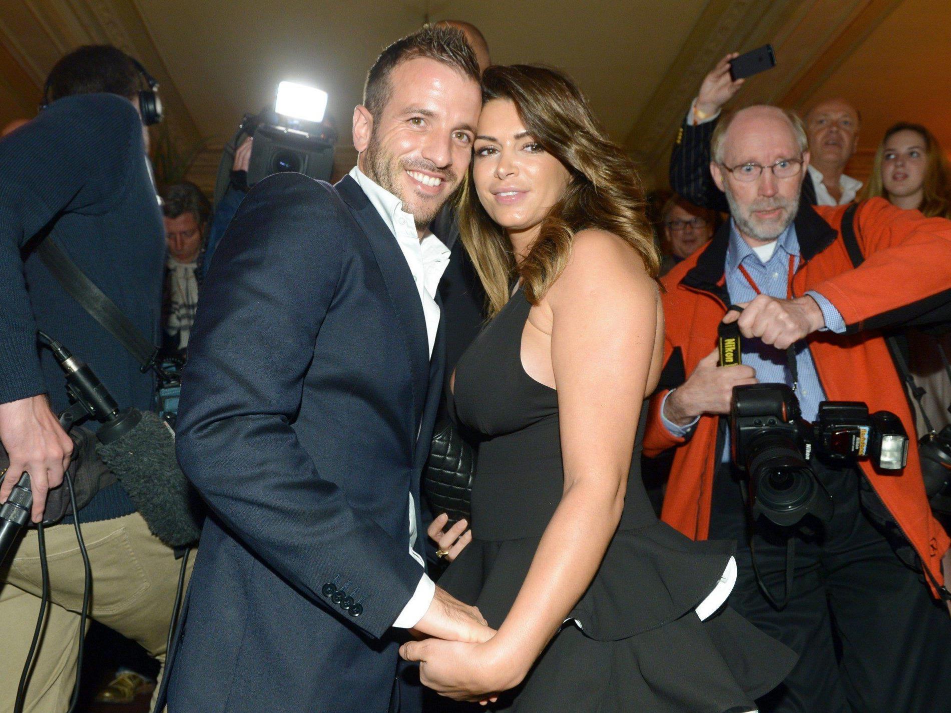 Rafael Van der Vaart und Sabia Boulahrouz erwarten Medienberichten zufolge ihr erstes gemeinsames Kind.
