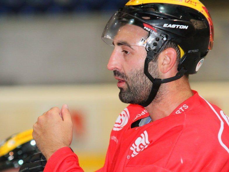 VEU Feldkirch-Verteidiger Marc Colleoni zählte beim 3:1-Auswärtssieg in Meran zu den Besten.