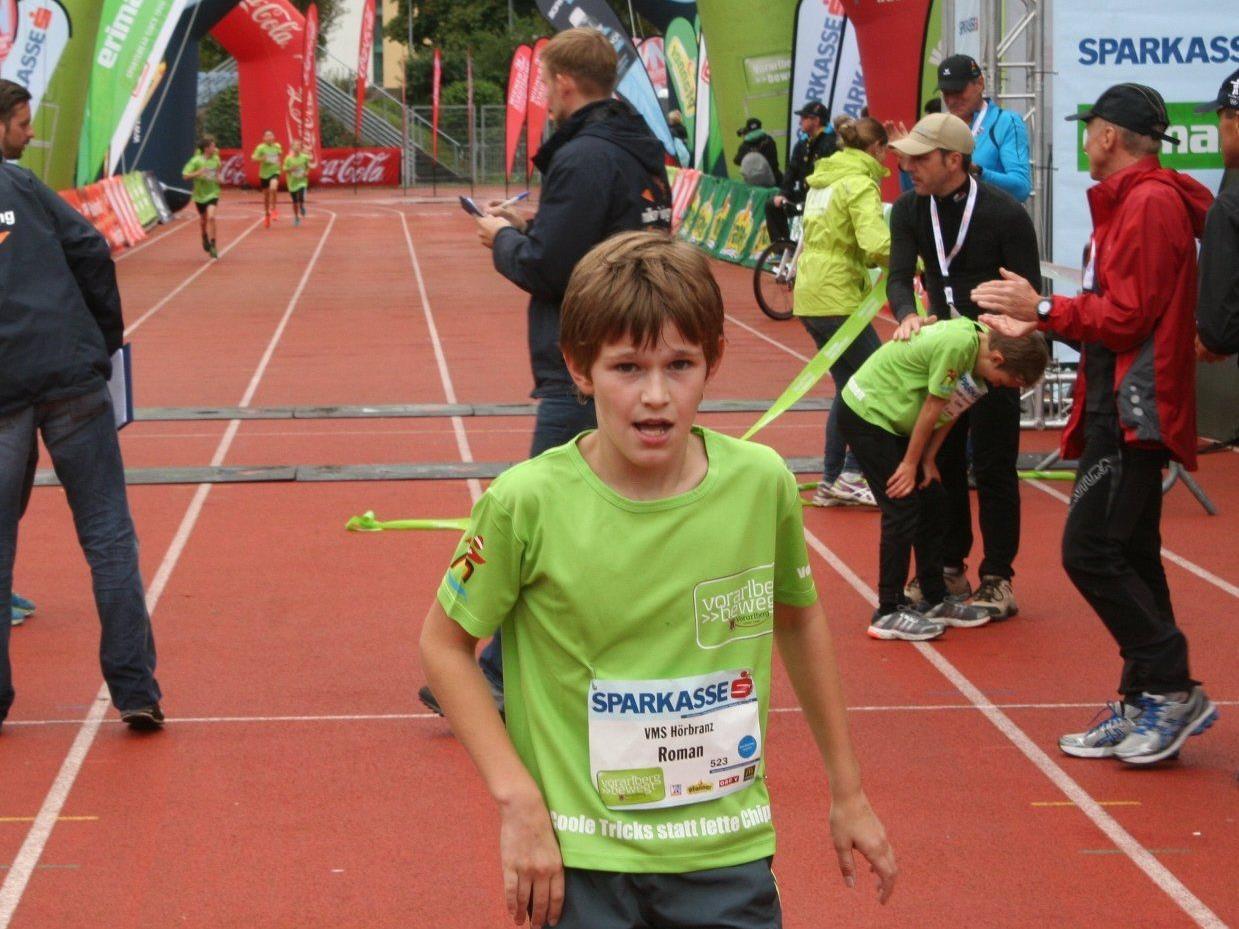 Roman Fiedler war der Schnellste beim Kids-Marathon.