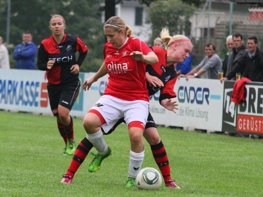 Anja Stadelmann schoss beim 6:2-Sieg in Geretsberg zwei der sechs Rankweiler Treffer
