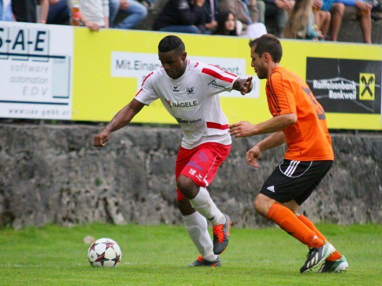 Der Rankweiler Stürmer Rafael Pereira Godoi wurde schon nach 30 Minuten ausgeschlossen.
