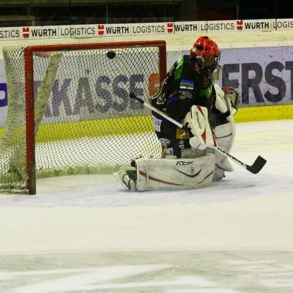 Marco Knobel oder Michael Gruber hütet im zweiten Meisterschaftsspiel gegen Leader GCK Lions Zürich das Rankler Tor.