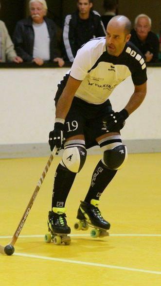 RHC Dornbirn-Spielertrainer Rey Acal ging mit seiner Mannschaft leer aus.