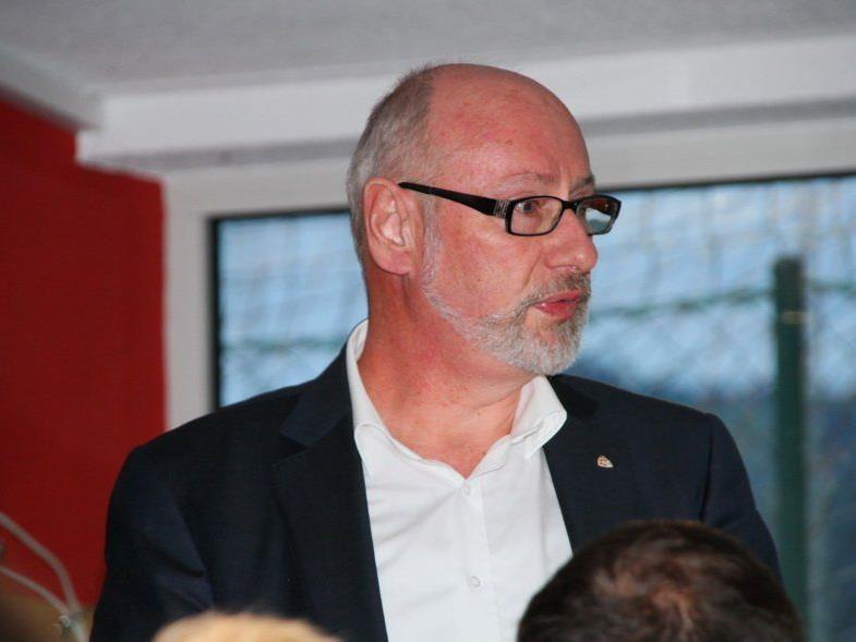 HC Rankweil-Macher Günther W. Amann darf nun getrost in die Zukunft blicken.