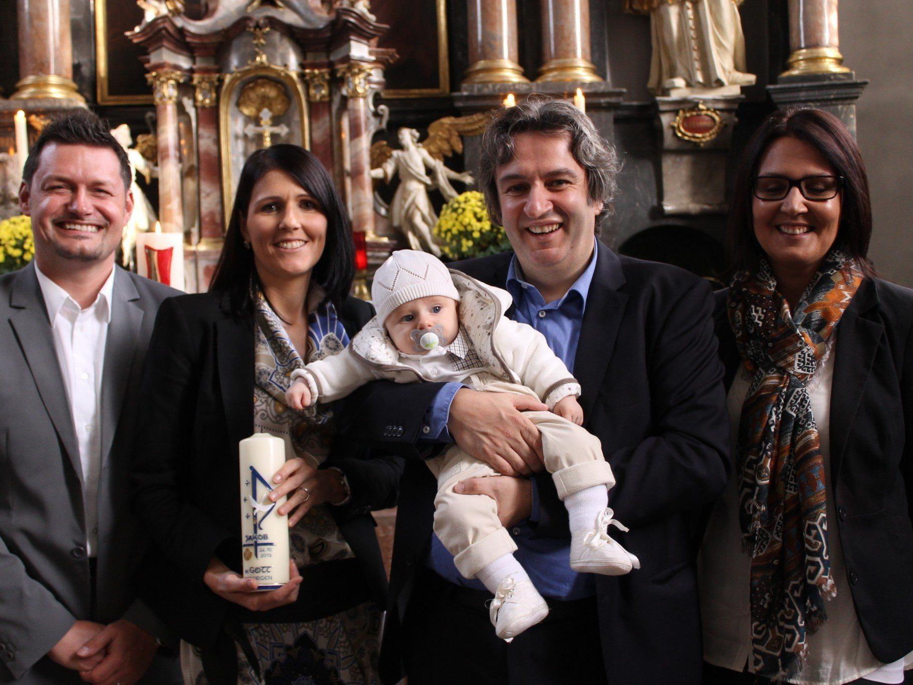 Jakob Otto Josef wurde in der Pfarrkirche getauft