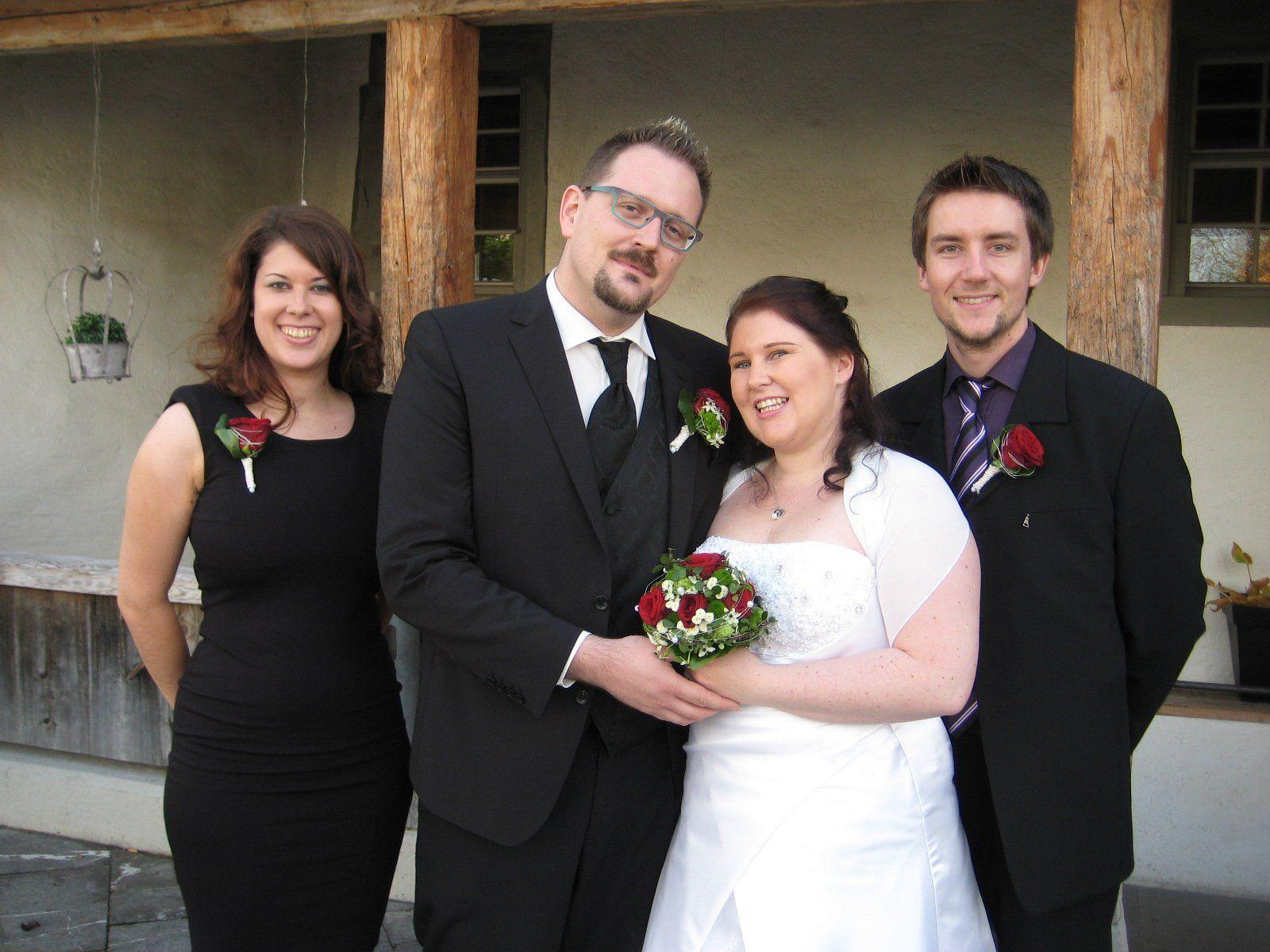 Tanja Obrist und Oliver Jentsch haben geheiratet.