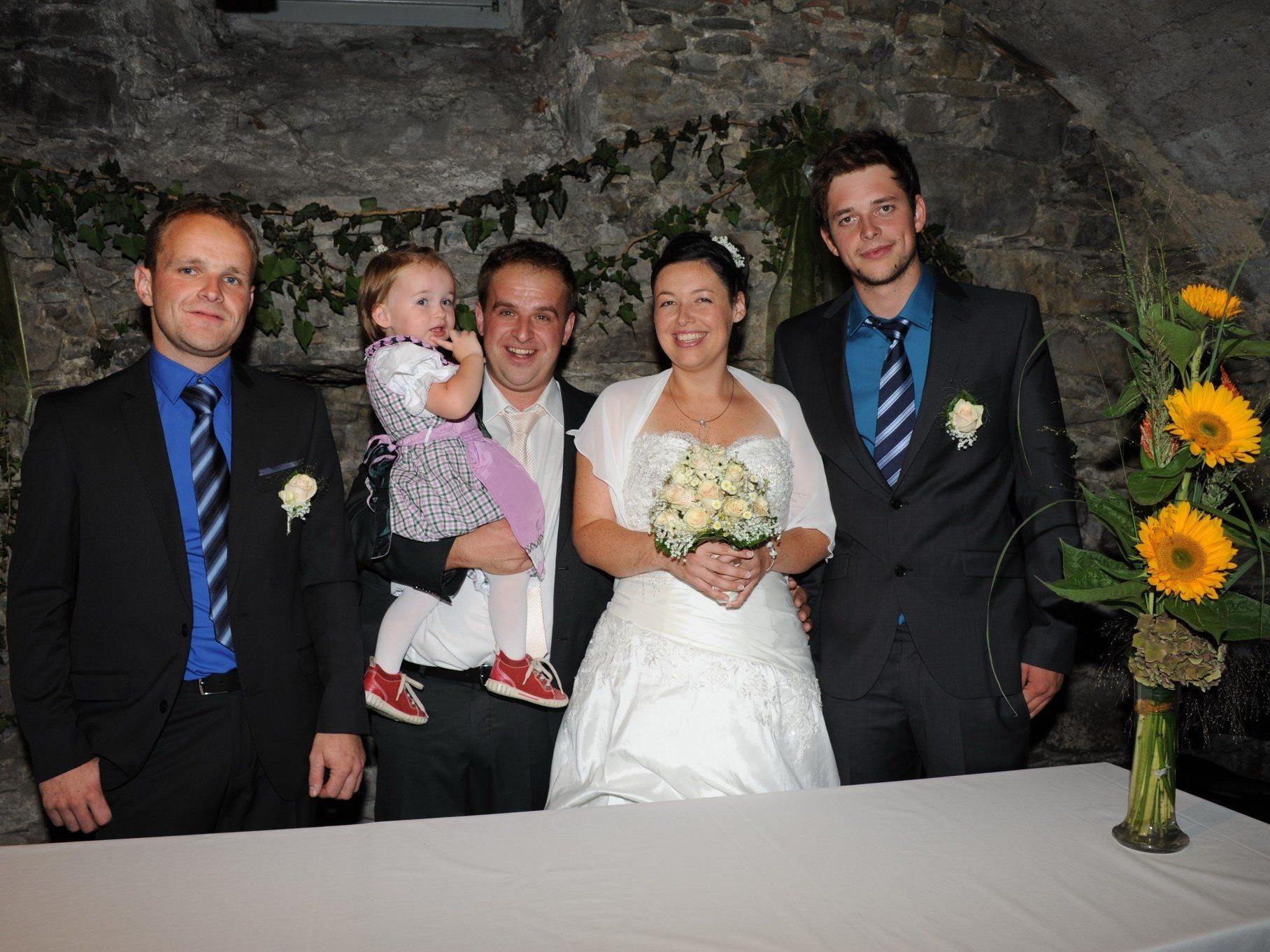 Sarah Schmid und Rainer Nesensohn haben geheiratet.