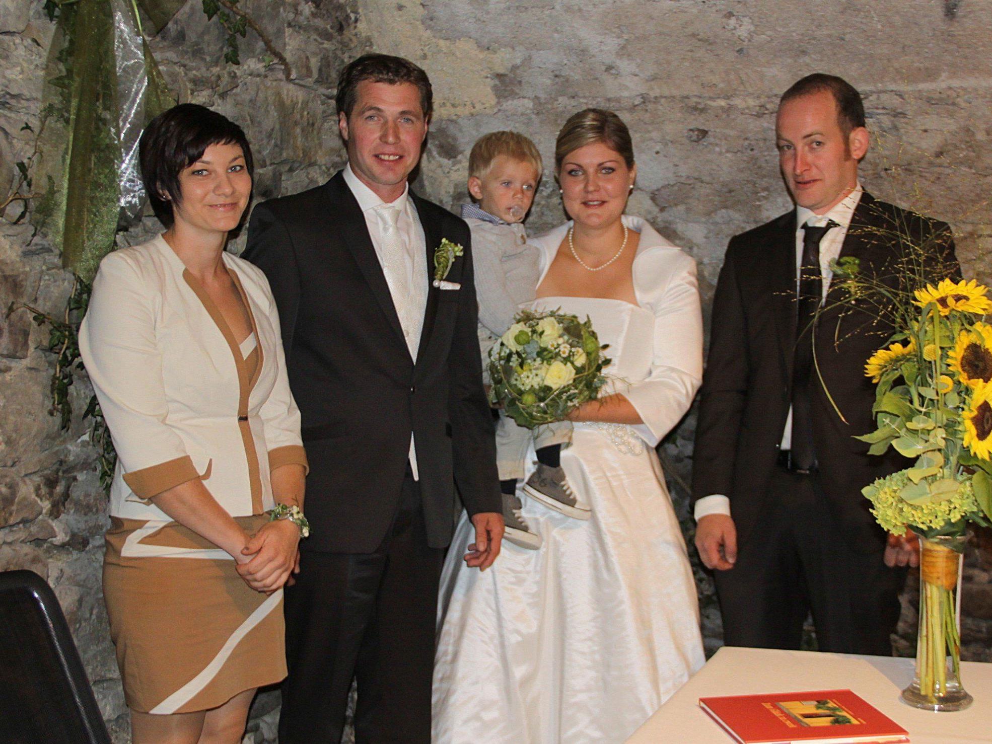 Anni Schnetzer und Daniel Lins haben geheiratet.