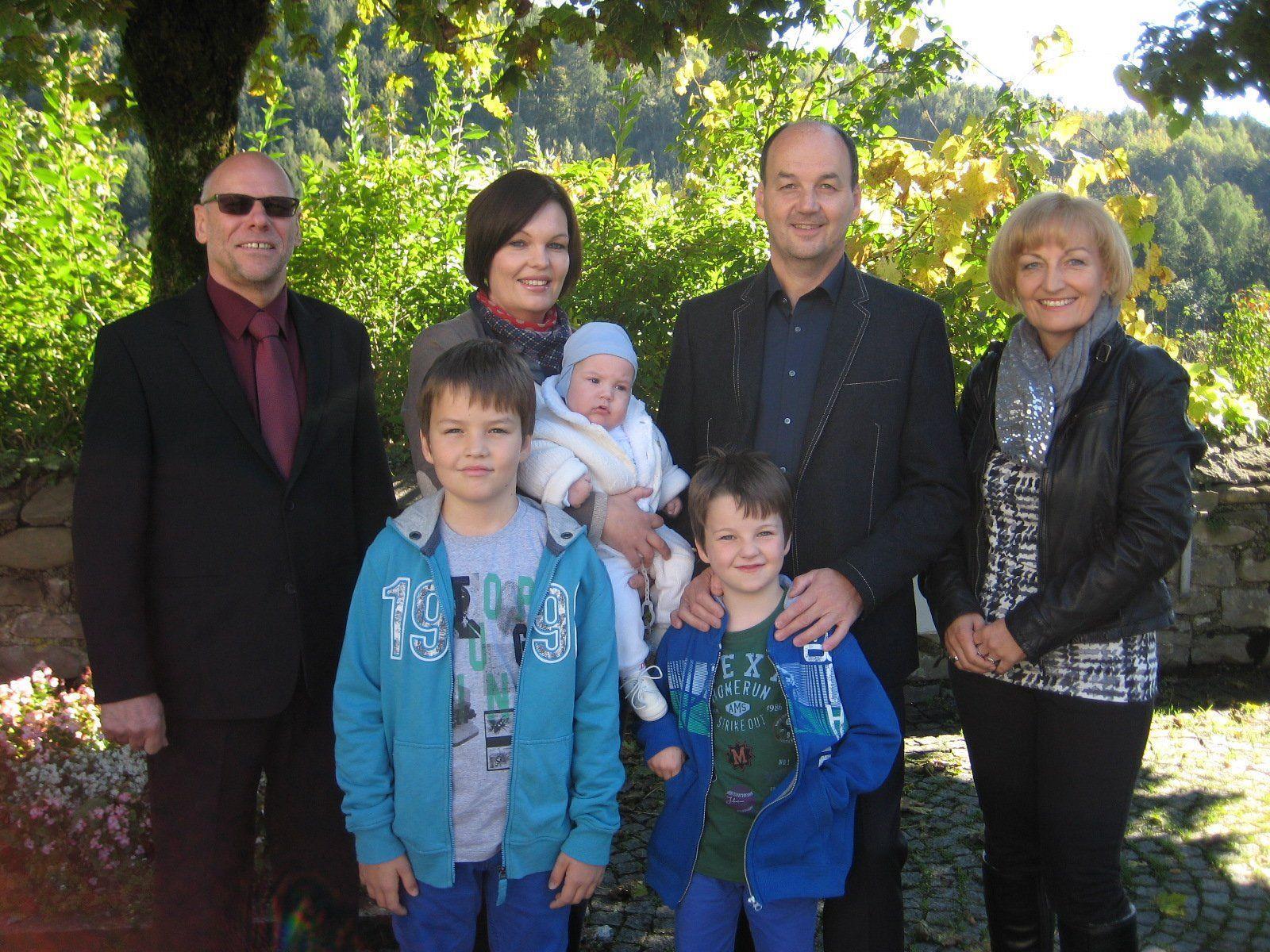 Alexander Gabriel Schnetzer wurde getauft.