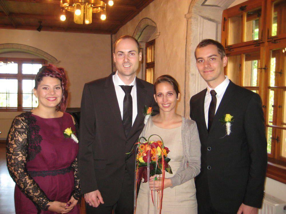 Sabrina Waldner und Thomas Egle haben geheiratet.