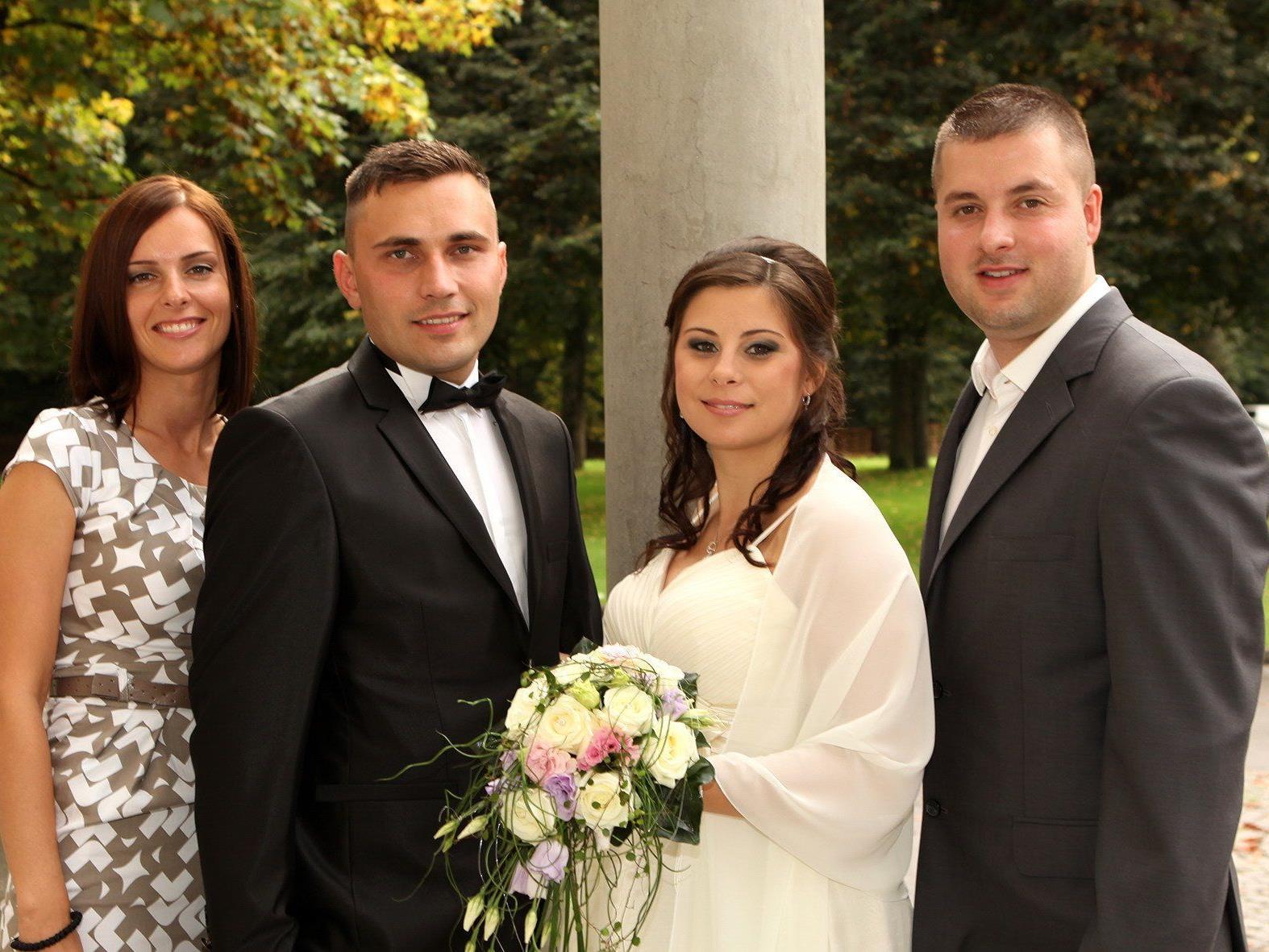 Patricia Kranjec und Mirko Lepir haben geheiratet.