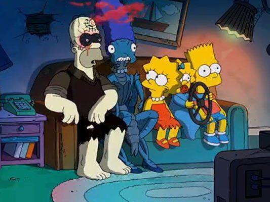 Grusel zur jährlichen Halloween-Episode.