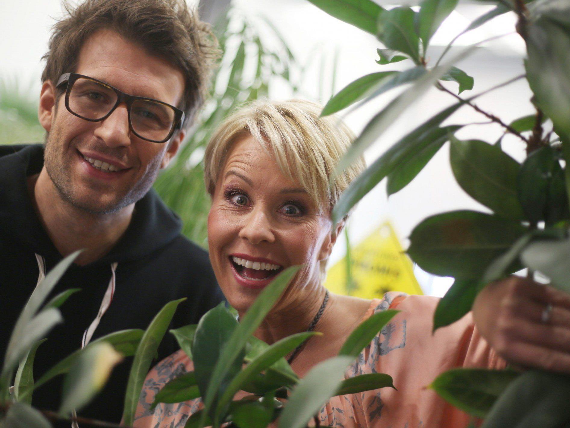 Bereits im Jahr 2012 moderierten Sonja und Daniel gemeinsam die RTL-Show.