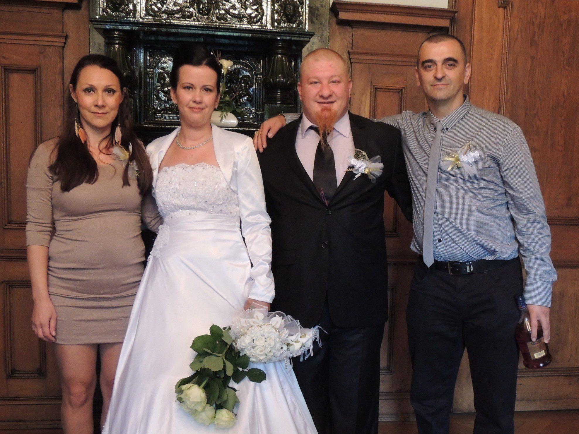 Milena Stevanović und Mile Radivojša haben geheiratet.