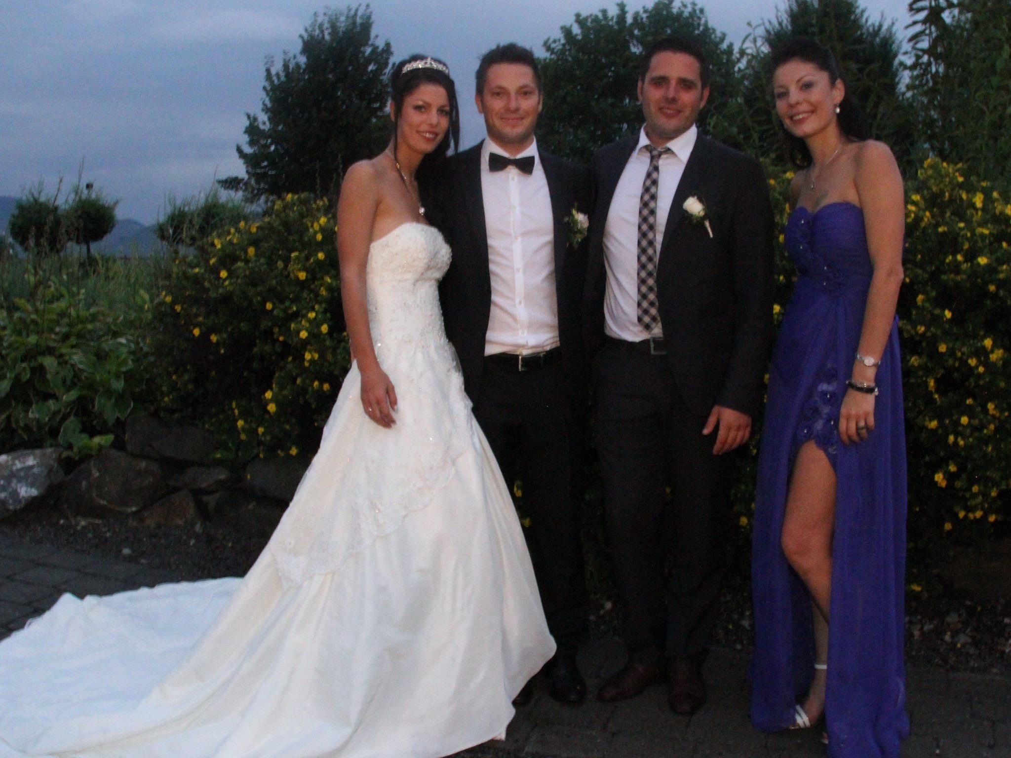 Tanja und Michael Keckeis haben geheiratet.