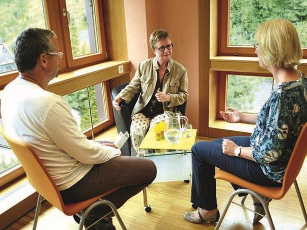Hospiz Vorarlberg bietet Trauercafé im Pfarrhaus in Feldkirch-Nofels an.