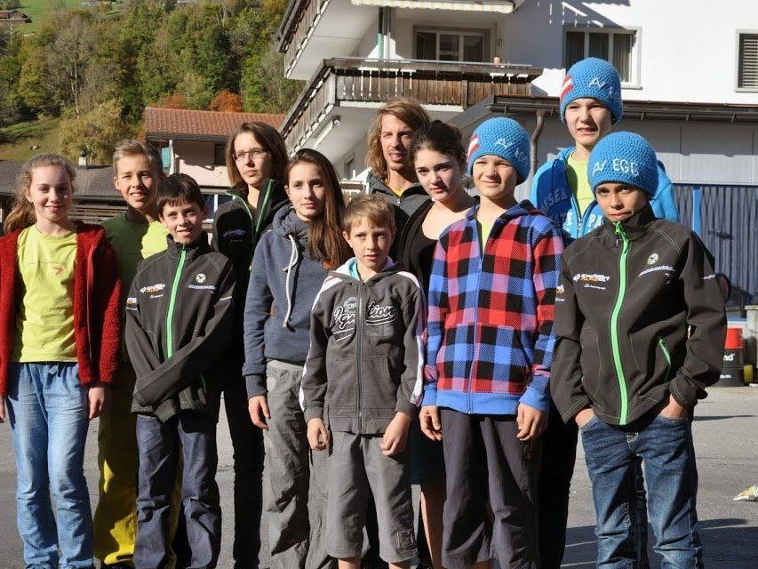 Vorarlberger Nachwuchskletterer