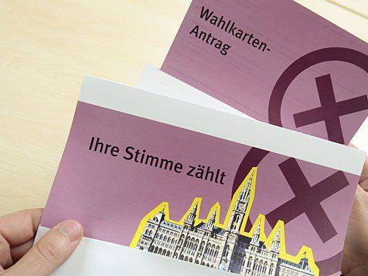 Vielen Wählerinnen und Wähler beantragten auch diesmal Wahlkarten