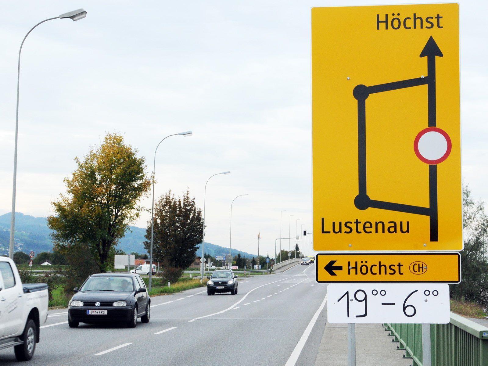 Die Rheinbrücke Hard-Fußach ist vermutlich für zwei Nächte gesperrt. Erste Sperre am 15.10. ab 19:00 Uhr